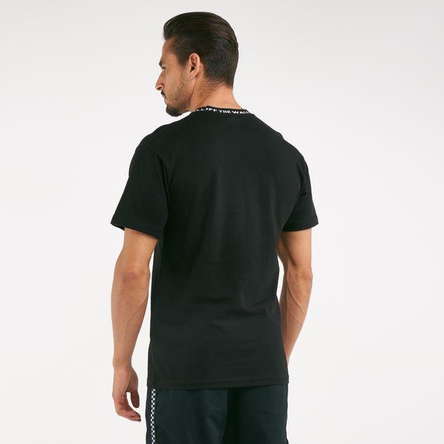 02d62ffab75 Vans Men's Off The Wall Jacquard T-shirt | T-Shirts | Tops ...