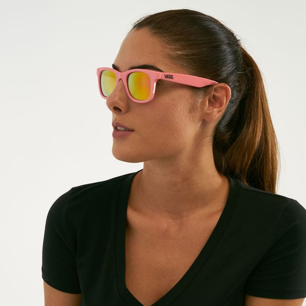 8998c7a256 Vans Janelle Hipster Sunglasses - Pink