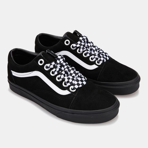 Vans Unisex Check Lace Old Skool Shoe Sneakers Shoes Sports