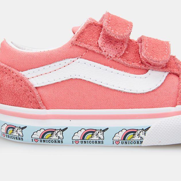 04732c97ed6d Vans Kids  Old Skool V Shoe (Baby   Toddler)