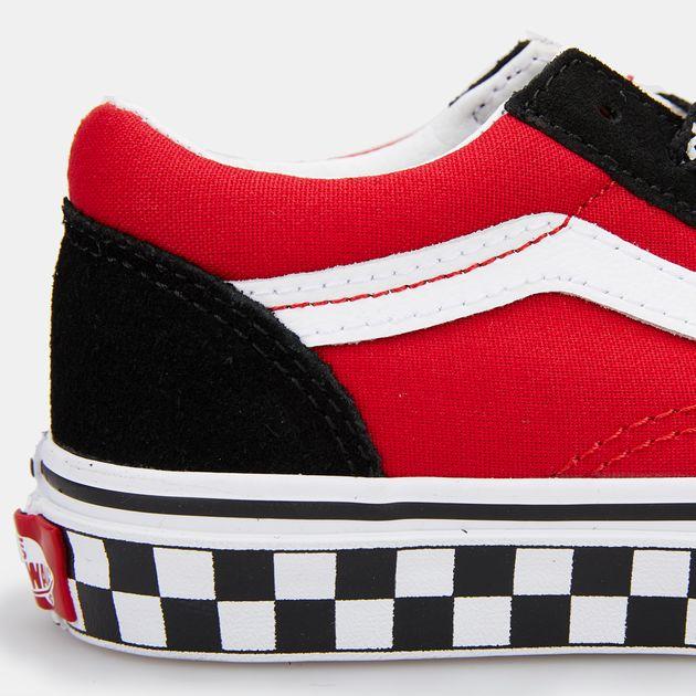 091b60a8693347 Vans Kids  Logo Pop Old Skool Shoe (Younger Kids)