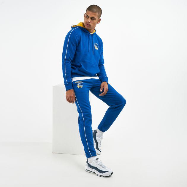 43abaf14df7309 New Era Men's NBA Golden State Warriors Stripe Piping Joggers, 1671500