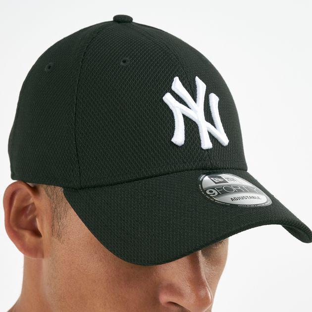 5017e3fa82a3c New Era Men s MLB New York Yankees Diamond Era Trucker 9FORTY Cap - Black