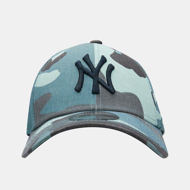 60a6e9d6 New Era Men's MLB New York Yankees Camo Essential 9FORTY Cap - Multi,  1771126