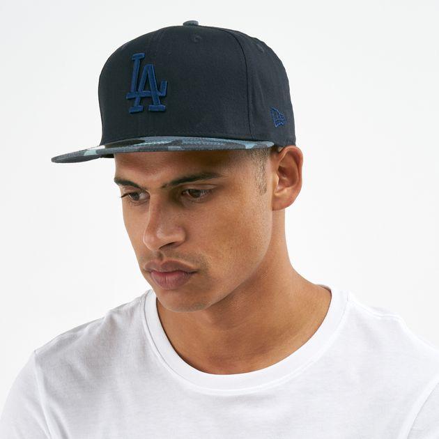 New Era Men's MLB Los Angeles Dodgers Essential Camo 59Fifty Cap