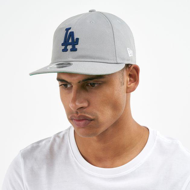 15512d1aea958 New Era Men s MLB Los Angeles Dodgers Retro Crown 59Fifty Snapback ...