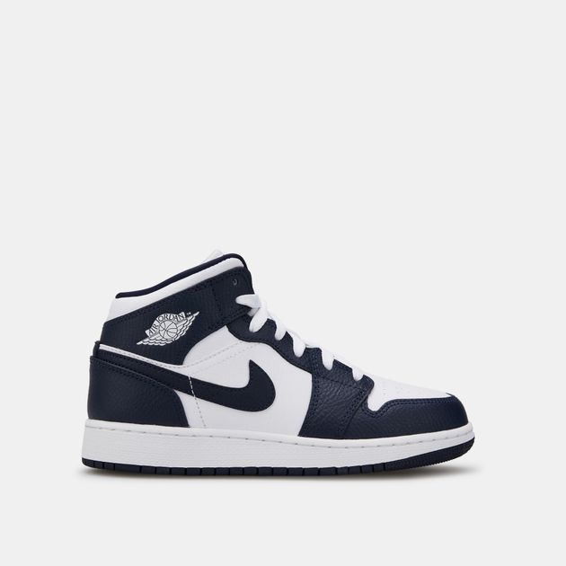 skate shoes factory outlet look good shoes sale Jordan Kids' Air Jordan 1 Mid Shoe (Older Kids)