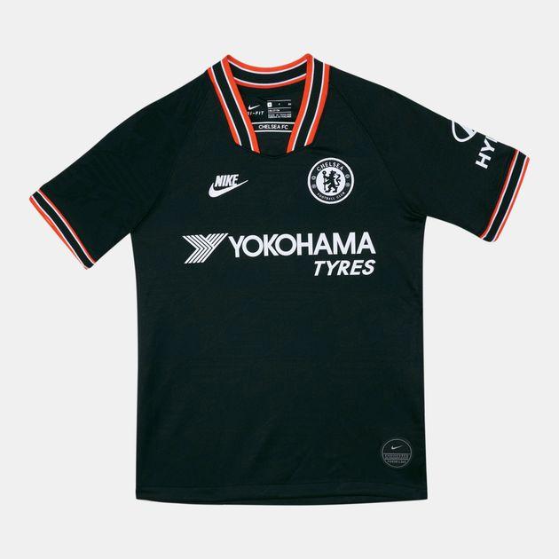 meet 2f893 09476 Nike Kids' Chelsea FC Breathe Stadium Jersey T-Shirt (Older Kids)