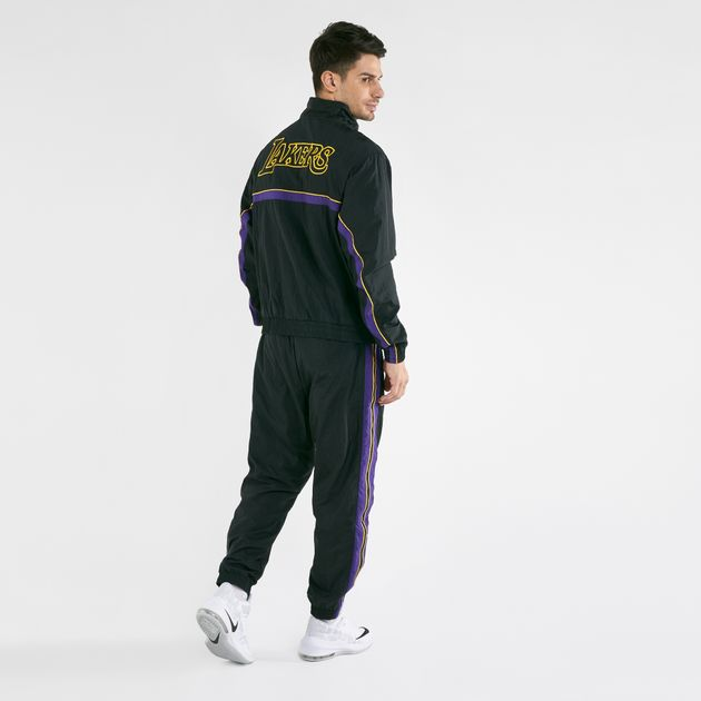 lakers nike tracksuit