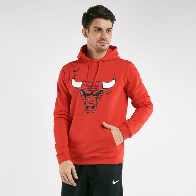 timeless design ae393 87bd9 Nike Men's NBA Chicago Bulls Hoodie
