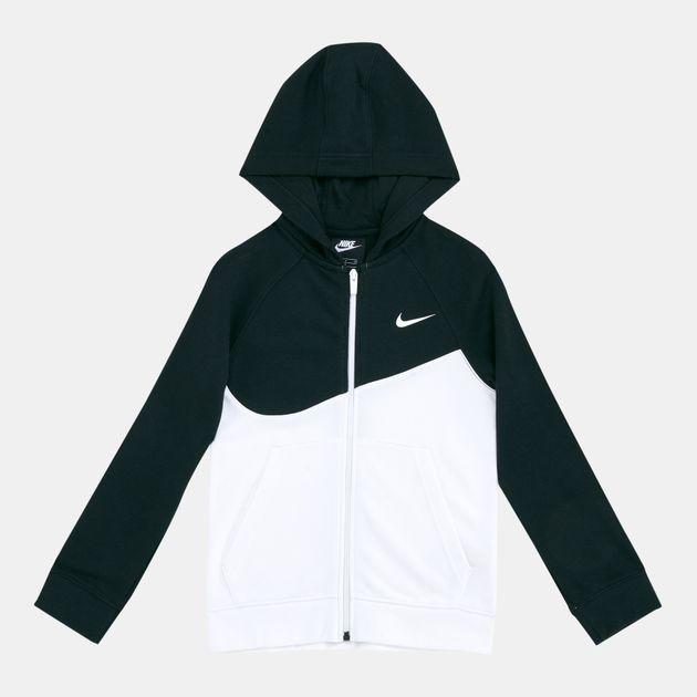 cozy fresh 50% price wide varieties Nike Kids' Sportswear Swoosh Fleece Hoodie (Older Kids) | Hoodies ...
