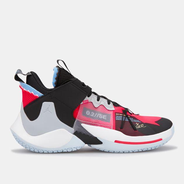 new product f3743 7e419 Jordan Men's Jordan Why Not Zer0.2 Basketball Shoe
