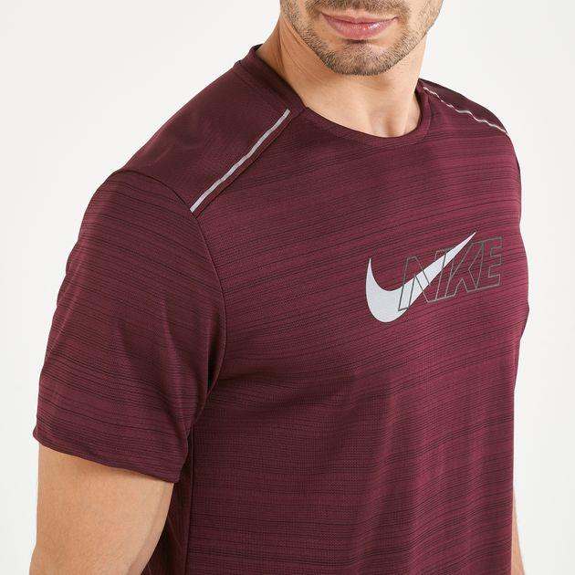 Nike Men's Dri FIT Miler Flash Novelty T Shirt