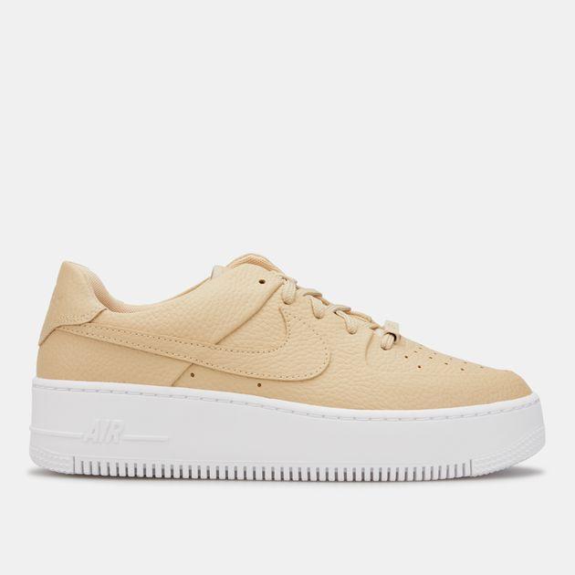 half off 360b5 9aa39 Nike Women's Air Force 1 Sage Low 2 Shoe