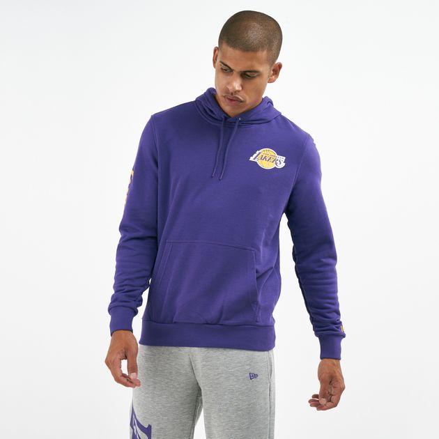 c8c2b168920c New Era Men s NBA Los Angeles Lakers Wordmark Hoodie