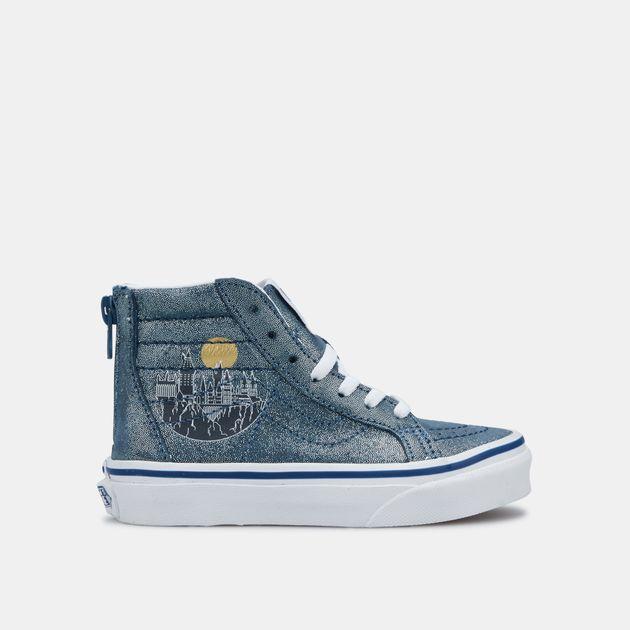 34c259aca40c Vans Kids' X Harry Potter Sk8-Hi Zip Shoe (Older Kids)   Sneakers ...