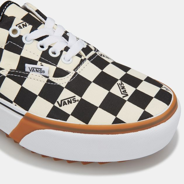 vans era stacked checkerboard