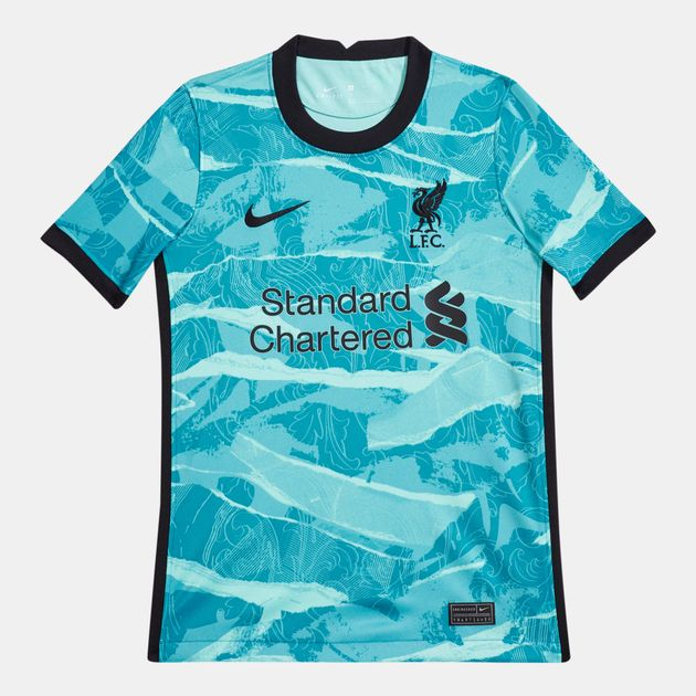 Nike Kids Liverpool F C Stadium Away Football Jersey 2020 21 Jerseys Tops Clothing Football Sports Sss