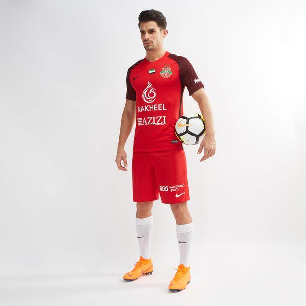 3c32e1a8dea6cf Shop Red Nike Shabab Alahli Home Football Jersey - 2017 18 for Mens ...
