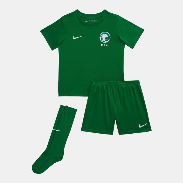 new products 15886 8f608 Nike Kids' Saudi Arabia Stadium Away Football Kit Set - 2018 ...
