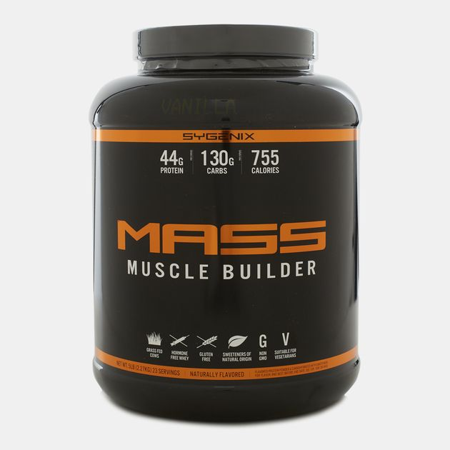 Sygenix MASS Muscle Builder Vanilla Creme