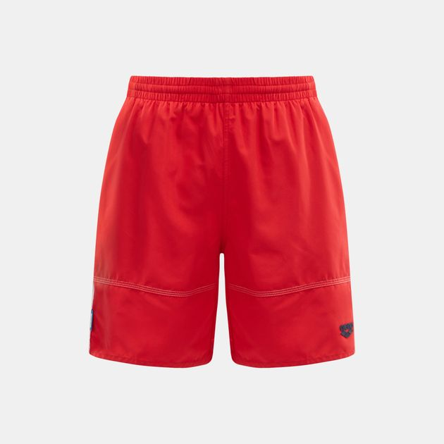 74907c477e Shop Red Arena Fundamental Tapes Swimming Bermuda Shorts for Mens by ...