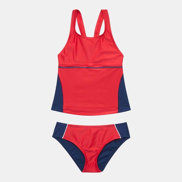 ddd0708efe Shop Blue Arena Kids  Sporty Tankini 2 Piece Swimsuit for Kids by ...