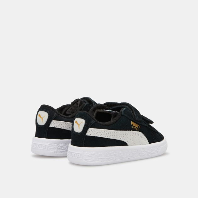 8782f3c6351b PUMA Kids  Suede 2 Straps Shoe (Baby and Toddler)
