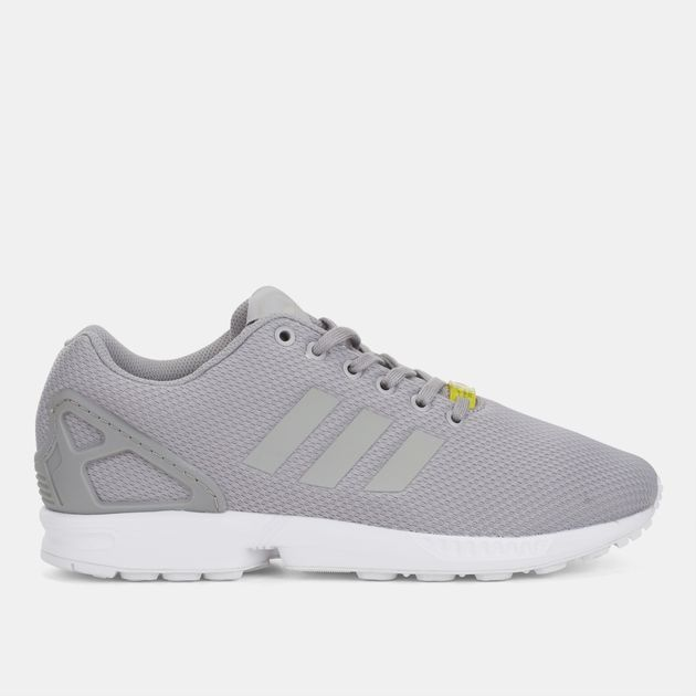 71481bee0 Shop Metallic adidas Originals ZX Flux Shoe for Mens by adidas ...