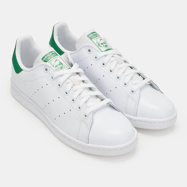 f93bc56f5 تسوق حذاء ستان سميث من أديداس أوريجينالز للرجال لون أبيض | سن أند ...