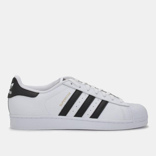 c99123ae3 تسوق حذاء سوبرستار من اديداس اورجينال للرجال لون أبيض | سن أند ساند ...