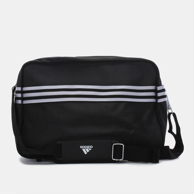 c14171def1 Shop Black adidas Enamel Shoulder Bag for Unisex by adidas