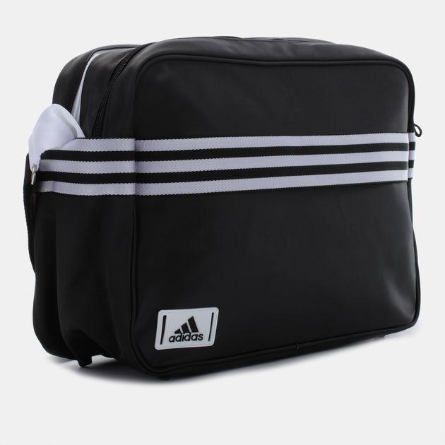 3493e22fe2 Shop Black adidas Enamel Shoulder Bag for Unisex by adidas
