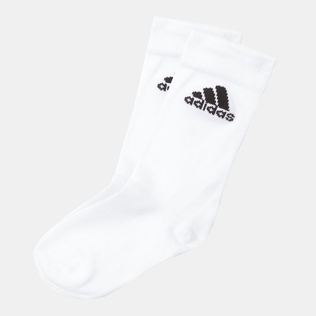 Shop White adidas Performance Thin Crew Socks for Unisex by adidas  f3b0bf3c198f