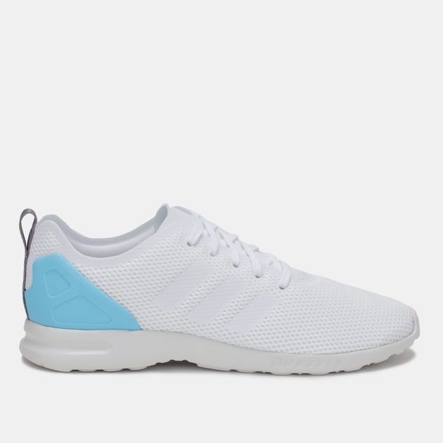 f228684964483 Shop White adidas ZX Flux Smooth Shoe for Womens by adidas Originals ...