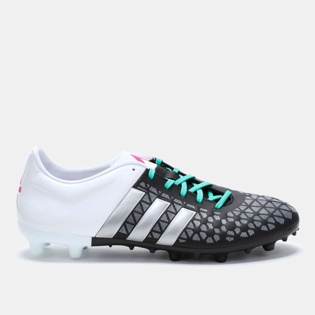 brand new 05f36 dc8ab Shop Black adidas Ace 15.3 Firm Artificial Ground Shoe for ...