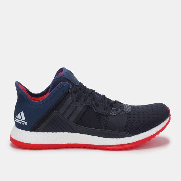 088e1e47a3244 Shop Blue adidas Pure Boost ZG Trainer Shoe for Mens by adidas
