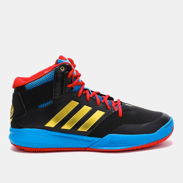 827cf1d5aa4e Shop Black adidas Derick Rose 773 IV TD Basketball Shoe for Mens by ...