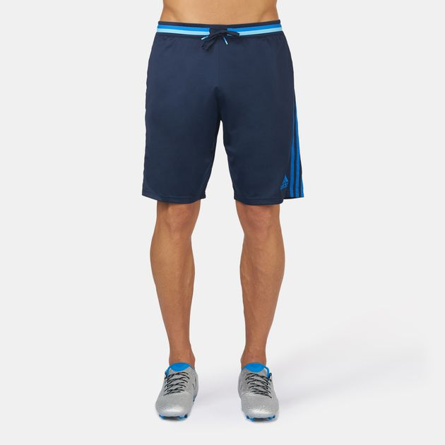 Shop Blue adidas Condivo 16 Training Shorts for Mens by