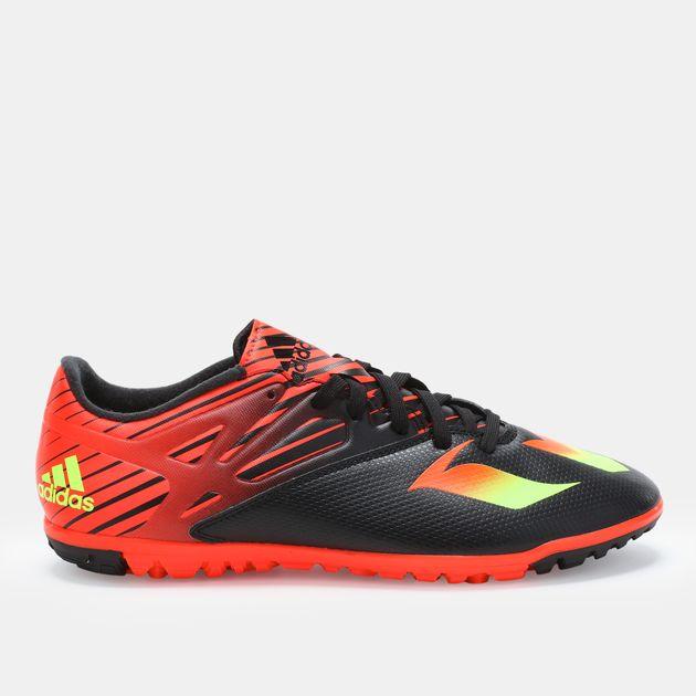 589ca58f6309 Shop Black adidas Messi 15.3 Turf Football Shoe for Mens by adidas