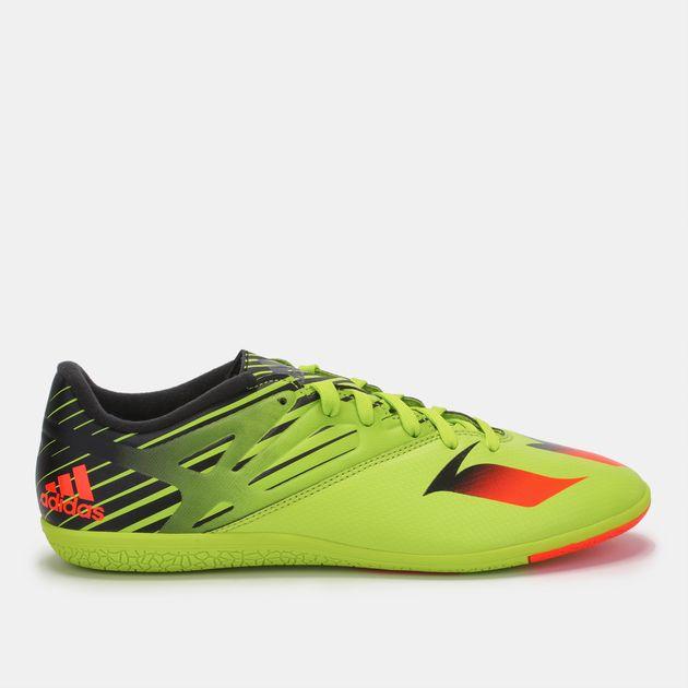 5ec1ec453f7e Shop Green adidas Messi 15.3 Indoor Shoe for Mens by adidas