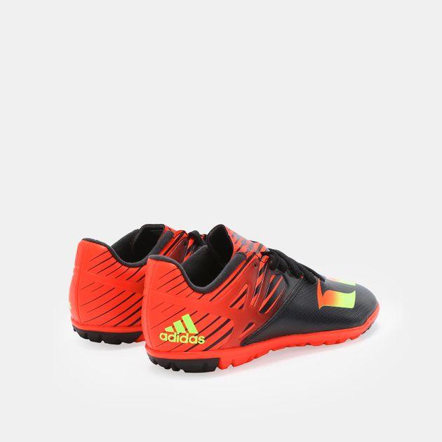 fadba3ce0691 Shop Black adidas Kid s Messi 15.3 Turf J Football Shoe for Kids by ...