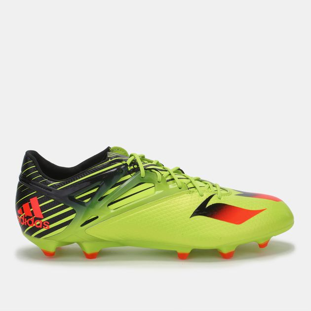 a8f2953b0 Shop Green adidas Messi 15.1 Shoe for Mens by adidas