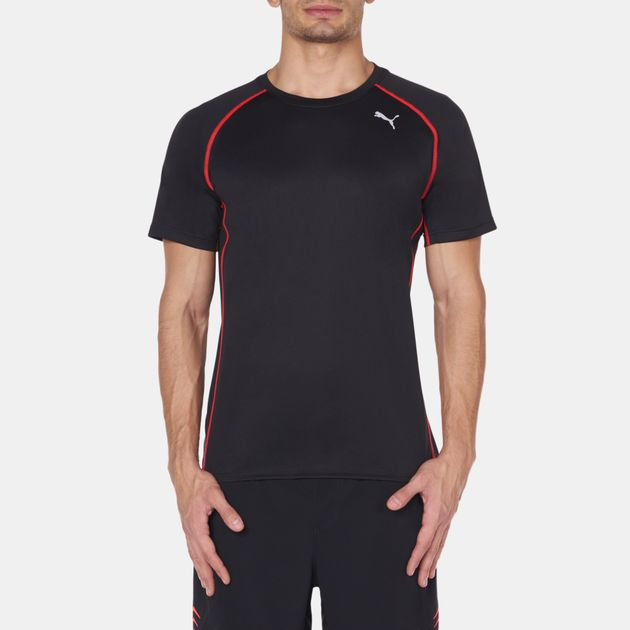 PUMA PE Running T-shirt - Black