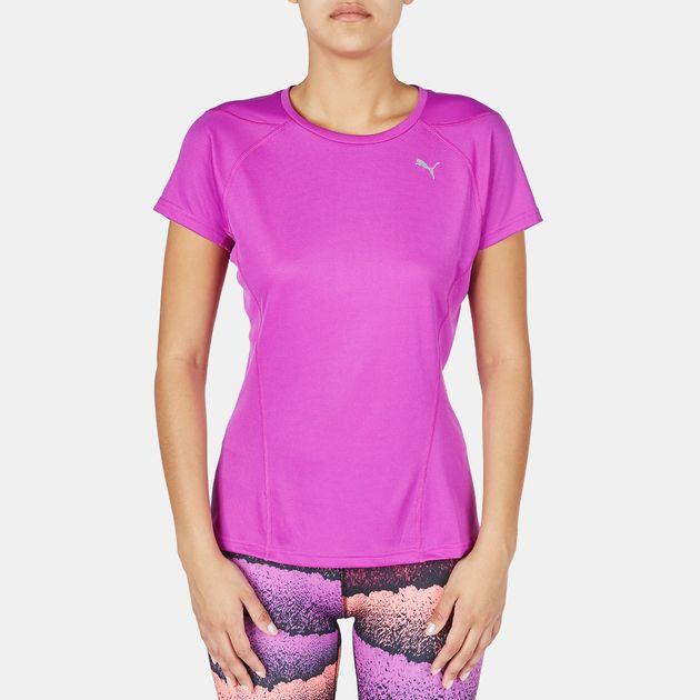PUMA Faster Than You T-Shirt - Purple