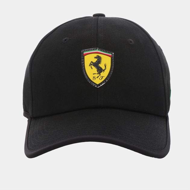 81d9c71755678 Shop Grey PUMA Ferrari Fanwear Flowback Cap for Mens by PUMA
