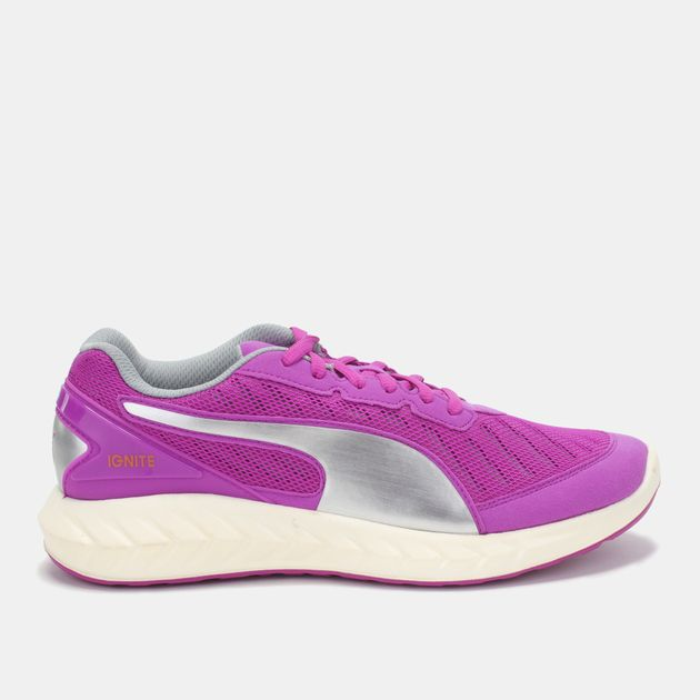 Shop Purple Puma IGNITE Ultimate Running Shoe for Womens by PUMA  a46a496c615a