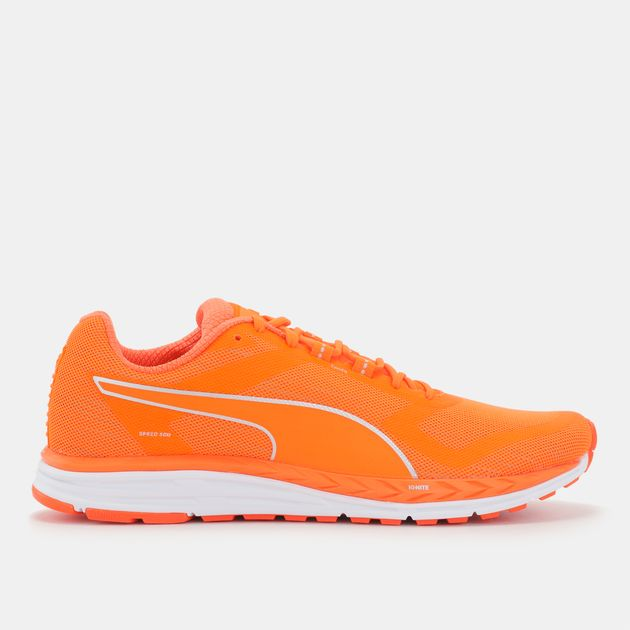 a4c9ce2fd01680 Shop Orange PUMA Speed 500 IGNITE NightCat Shoe for Mens by PUMA
