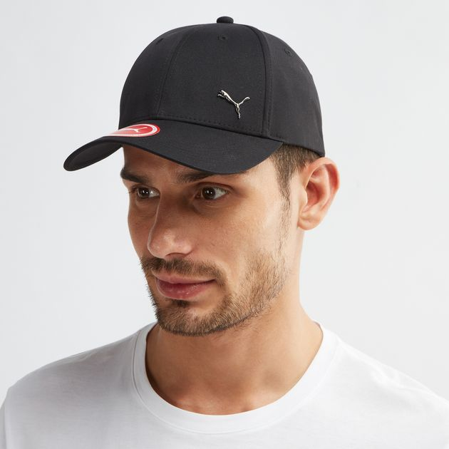 3026c015a5e Shop Black PUMA Metal Cat Cap for Mens by PUMA