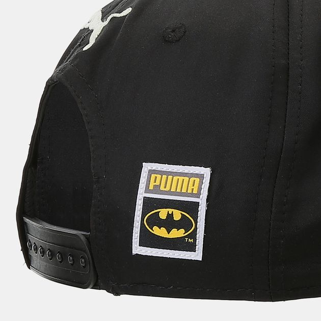 Shop Black PUMA Kids  Batman Knight Flatbrim Cap